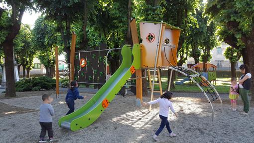 I bambini potranno presto tornare al Parco della Rimembranza