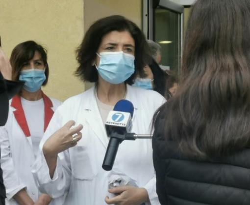 Il primario del dipartimento di Emergenza Urgenza, Roberta Petrino