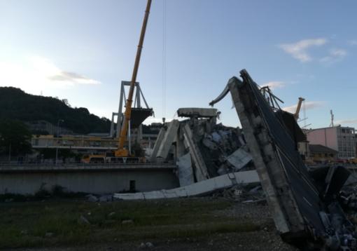 Genova: il video del crollo del ponte Morandi