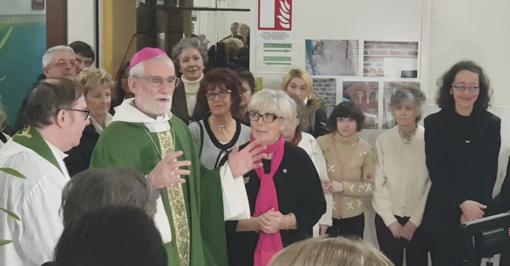 L'incontro con l'arcivescovo Marco Arnolfo
