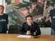 Il dirigente della Mobile, Antonino Porcino e due operatori della seconda Sezione