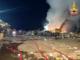 Palazzolo: foto e video dell'incendio