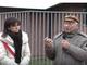Piero Angela con il sindaco Maura Forte