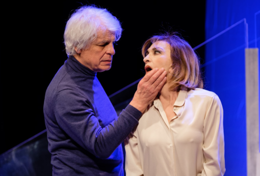 Michele Placido e Anna Bonaiuto domenica in scena al Civico