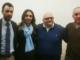 Jose Saggia insieme all'assessore Elena Chiorino, a Emanuele Pozzolo e a Renzo Masoero