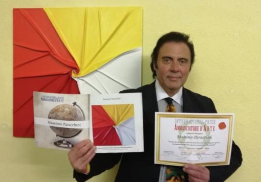 "Massimo Paracchini è ""Ambasciatore d'Arte"""
