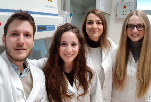 Da sinistra, Enrico Grosso, Sara Laurora, Maria Scatolini e Sara Mingotti