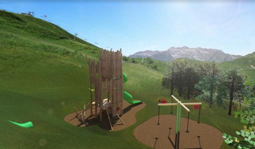 All'Alpe di Mera con lo scoiattolo Meraviglio: Apre il nuovo parco giochi in quota