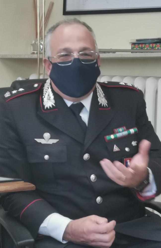 Carabinieri, il colonnello Ronchey lascia Vercelli per l'Abruzzo