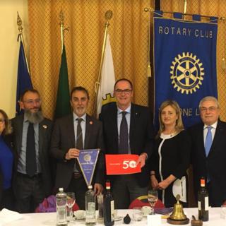 La riunione del Rotary Club Viverone Lago