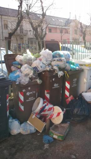La situazione di un cortile condominiale di corso Salamano