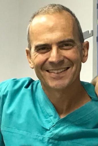 Francesco Rametta, direttore della struttura di Cardiologia