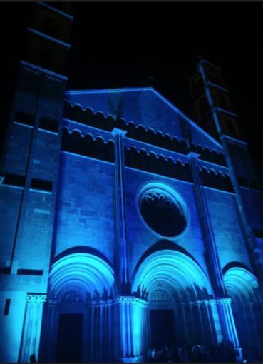 """Vercellesi conquistati da Sant'Andrea """"After dark"""""""