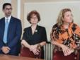 Da sinistra: Mimmo Sabatino, Gianna Baucero e Ombretta Olivetti