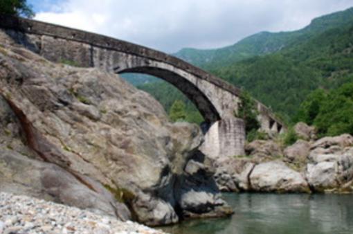 Un tratto del fiume Sesia a Scopa