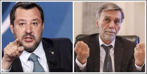 Arrivano Matteo Salvini e Graziano Delrio