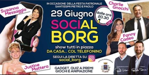 Charlie Gnocchi, Susanna Messaggio, Justine Mattera e Fanny Cadeo per la patronale 2.0