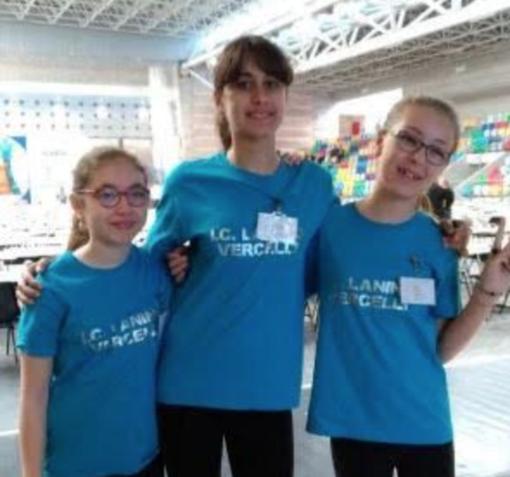 Trofeo Scacchi Scuola: bella prova delle vercellesi
