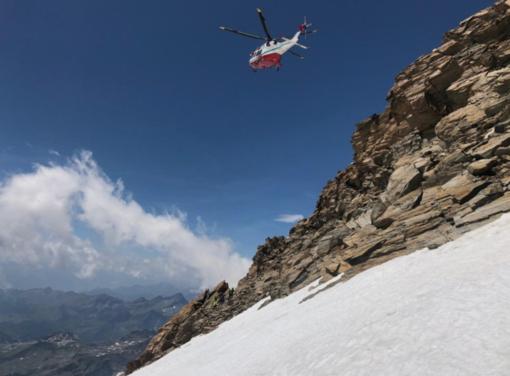 Monte Rosa, week end di incidenti: un morto, un ferito grave