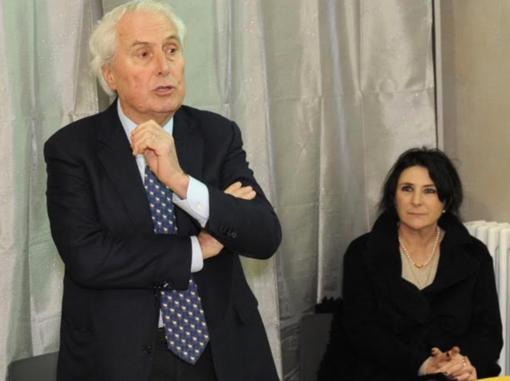 Roberto Scheda e Nicoletta Vendola