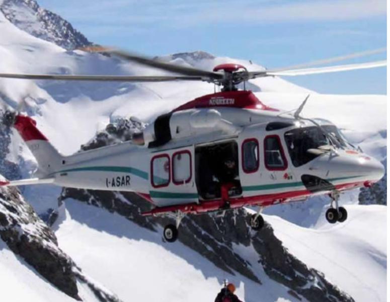 Alpinista senese muore cadendo per 150 metri dal monte Bianco