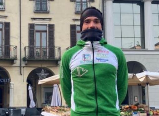 Francesco Surace alla partenza e a Oropa