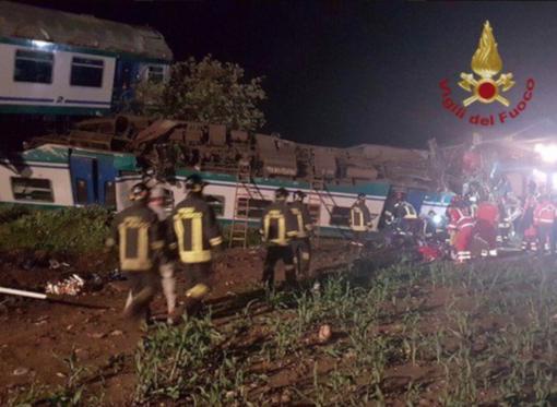 Disastro ferroviario: ecco chi sono le vittime