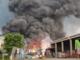 Spaventoso incendio lungo la Trossi: in azione anche i vigili del fuoco di Vercelli e Santhià - I VIDEO