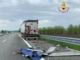 Incidente tra camion: autista in ospedale
