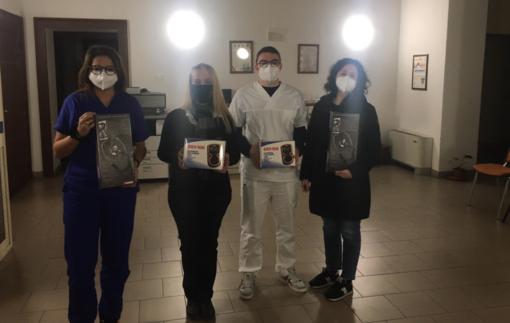 Dispositivi medici in dono al personale Usca