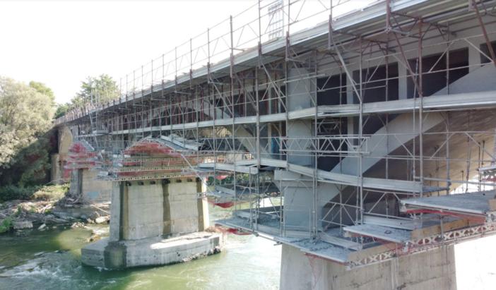 Ponte sul Po: ai primi di novembre gli ultimi interventi