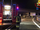 Camion in fiamme: paura sulla A4