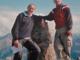 Agliotti e Trevisan in un'escursione
