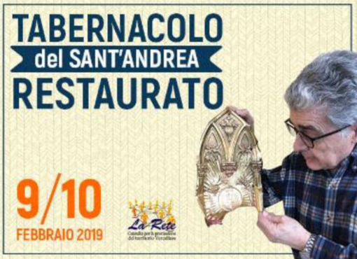 La Rete restaura il tabernacolo di Sant'Andrea - IL VIDEO