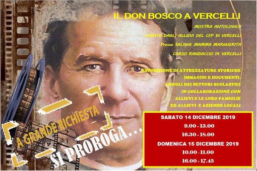"""Mostra """"Il don Bosco a Vercelli"""": nuovi orari"""