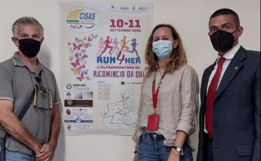 Run4her: al via l'ultamaratona per il centro anti violenza