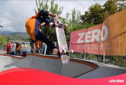 Sport, 'uBroke Main Partner della rinomata skateboard-competition 'Poolarama' ad Almese
