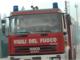 Brucia un materasso: vigili del fuoco in ospedale