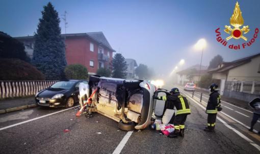 Due feriti all'Isola in un incidente tra 5 auto