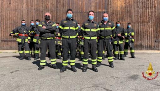 Vigili del Fuoco: 15 nuovi volontari entrano in servizio in provincia - FOTO
