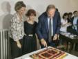 Cristina Canziani (Camerata), Gianna Baucero (assessore) e Nando Lombardo (presidente della Fondaziaone)
