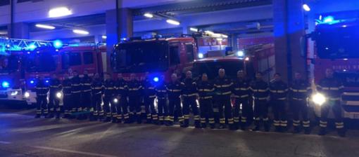 Vigili del Fuoco in lutto per i colleghi morti a Quargnento - IL VIDEO