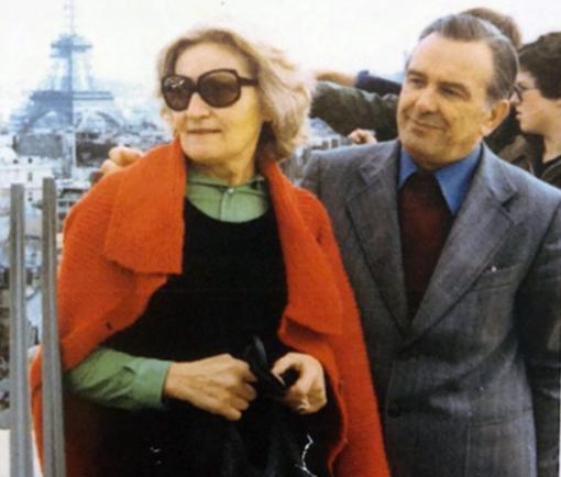 Nella Zaninetti e il marito Elvo Tempia